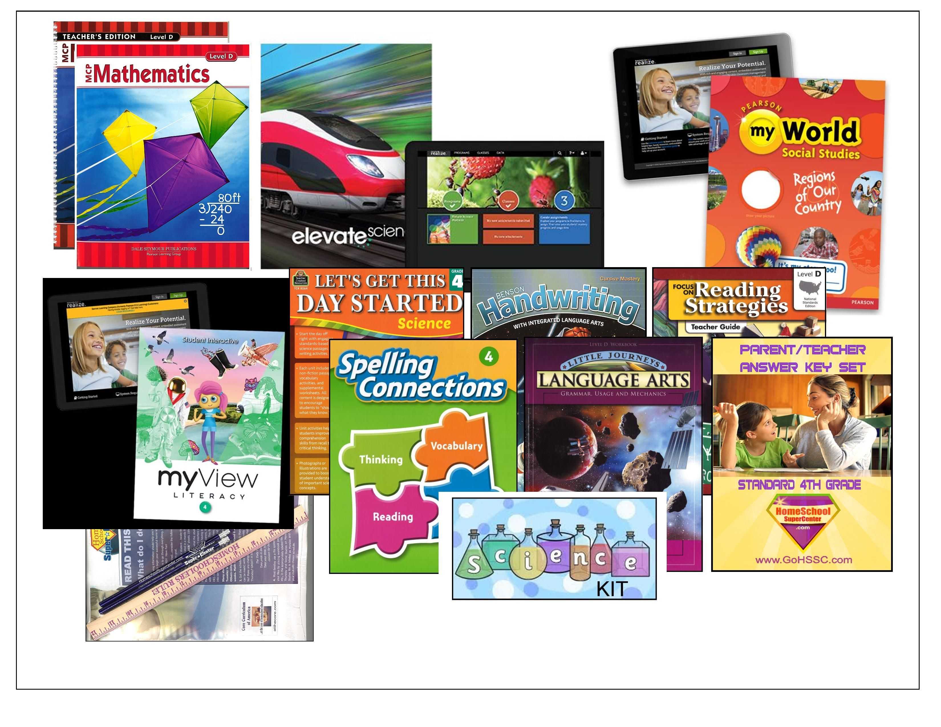 4th Grade Complete Curriculum Bundle - Standard