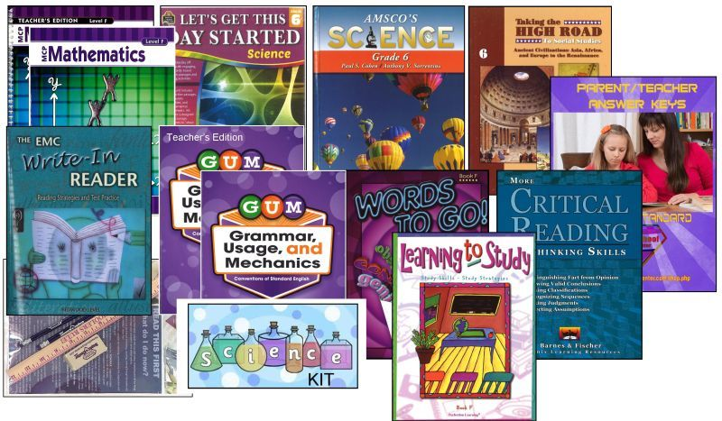 6th Grade Complete Curriculum Bundle - Standard