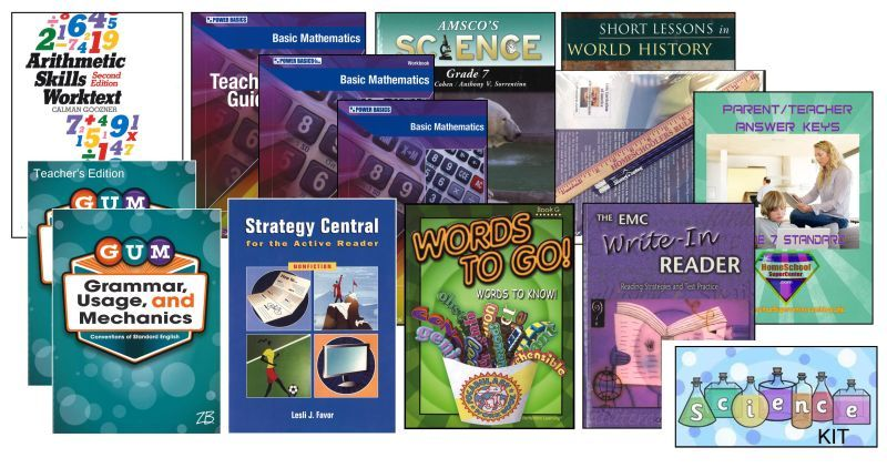 7th Grade Complete Curriculum Bundle - Standard