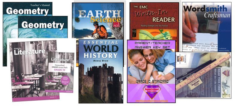 10th Grade Complete Curriculum Bundle - Standard