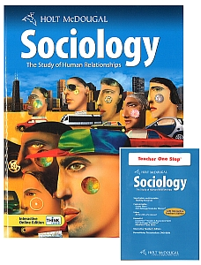 SOCIOLOGY KIT w/Student Textbook & Teacher's 1Stop DVD w/Answers