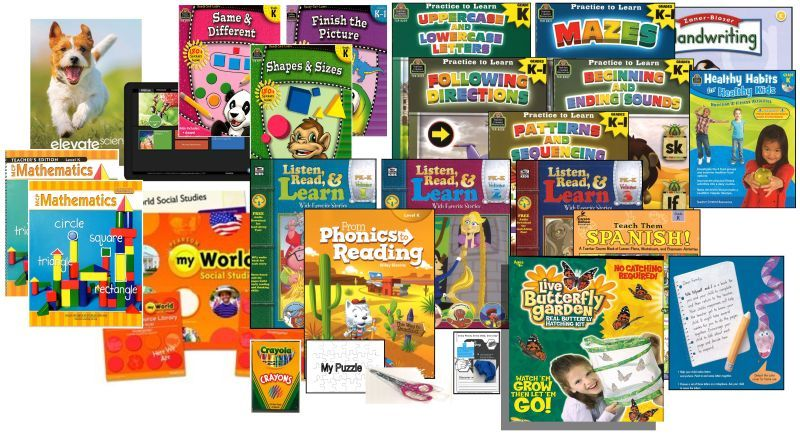 Complete Curriculum Bundle - Kindergarten