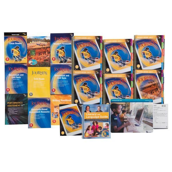Journeys Homeschool Bundle Grade 5