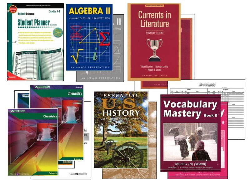 Basic 11th Grade Homeschool Bundle - Full Year