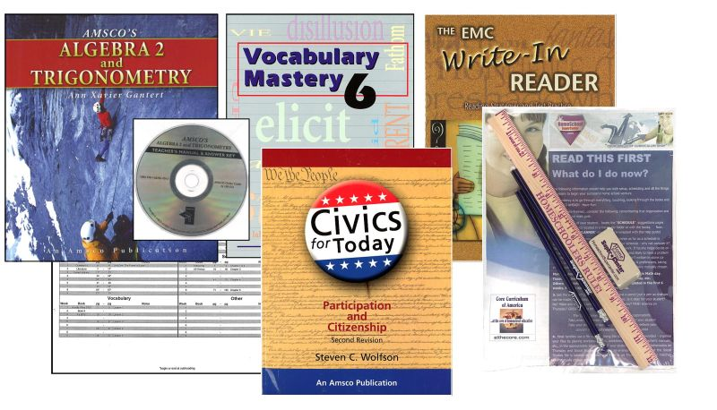 Basic 12th Grade Homeschool Bundle - Full Year
