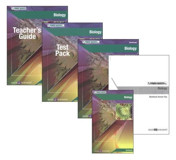 Power Basics: Biology Homeschool Bundle
