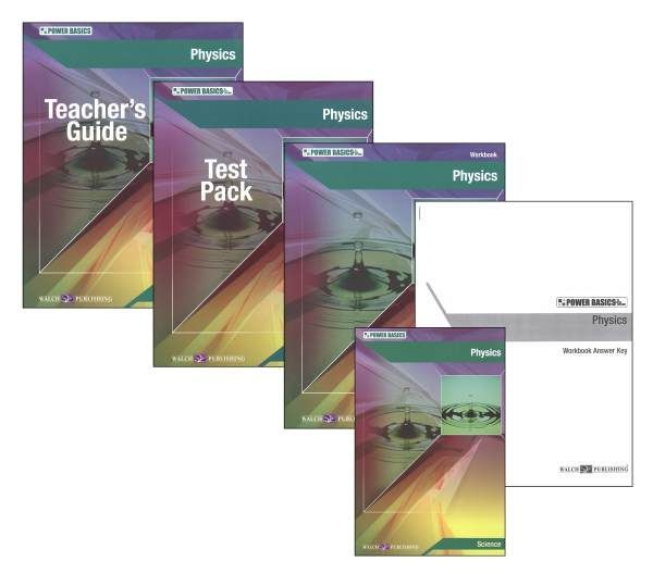 Power Basics: Physics Homeschool Bundle